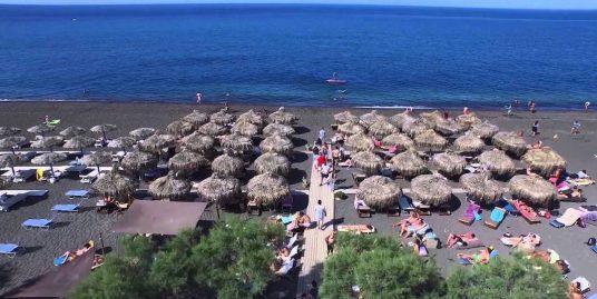 Beach Bar in Santorini EXCLUSIVE