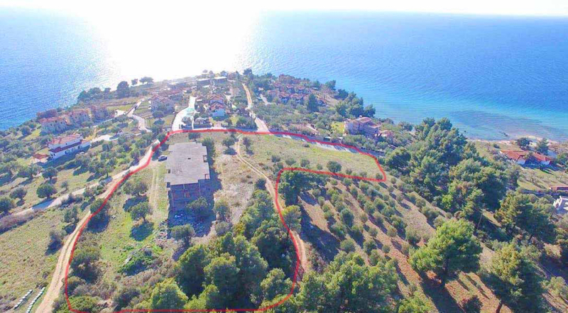 Unfinished Hotel at Agios Ioannis Sithonia Halkidiki, Real Estate Greece, Property in Greece, Top Villas