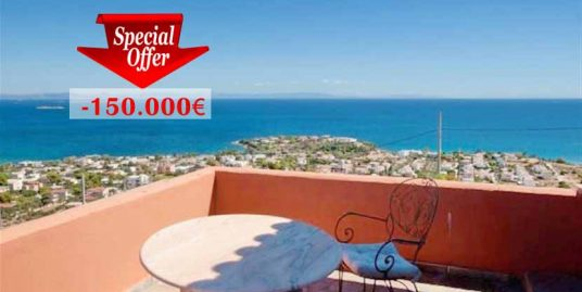 Amazing Villa at Lagonisi Attica with Panoramic Sea View EXCLUSIVE