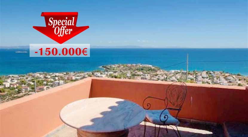 Amazing Villa at Lagonisi Attica with Panoramic Sea View EXCLUSIVE