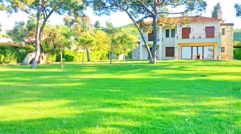villa seafront Hanioti Halkidiki for sale 0