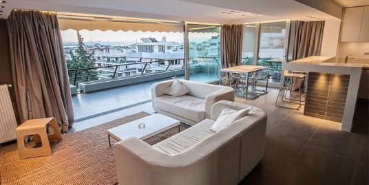 Luxury Furnished Penthouse suite in Glyfada Athens with Sea view
