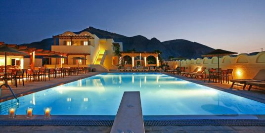 Hotel at Perivolos Santorini with 32 Rooms and Main Pool