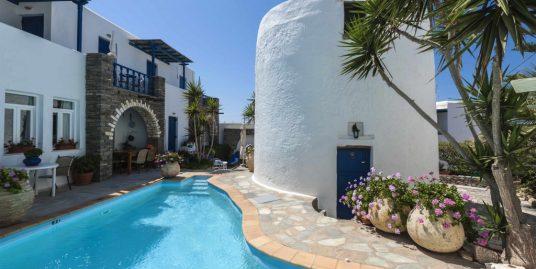 Hotel at Naousa Paros near the sea