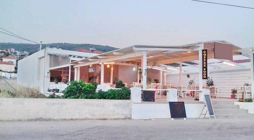 Restaurant Beach Bar Aegina Greece 1