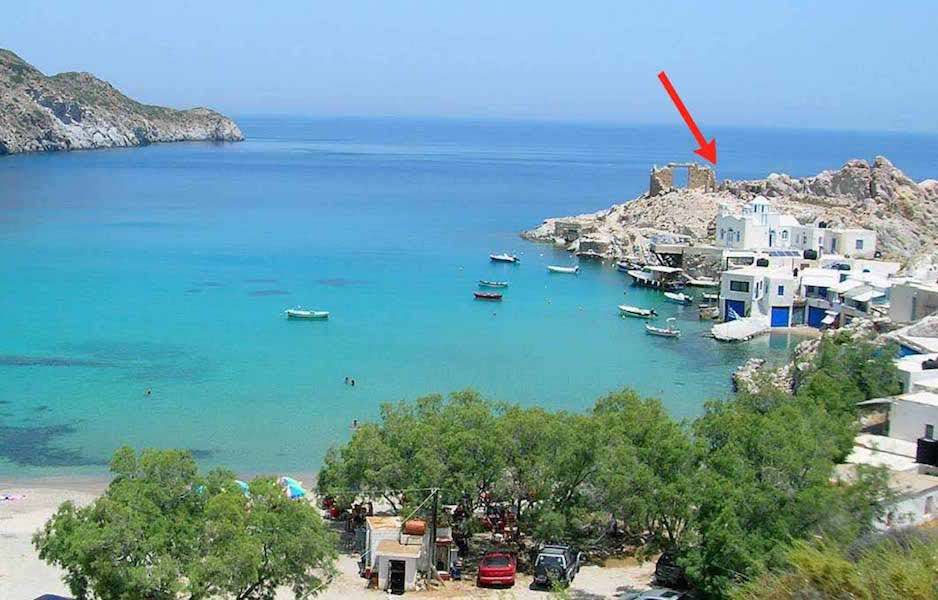 Very Beautiful Seafront Land At Milos Island Exclusive