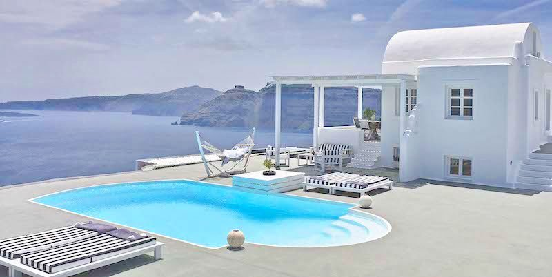 Super Top Villa at Oia Santorini, Luxury Estate, Top Villas, Real Estate Greece