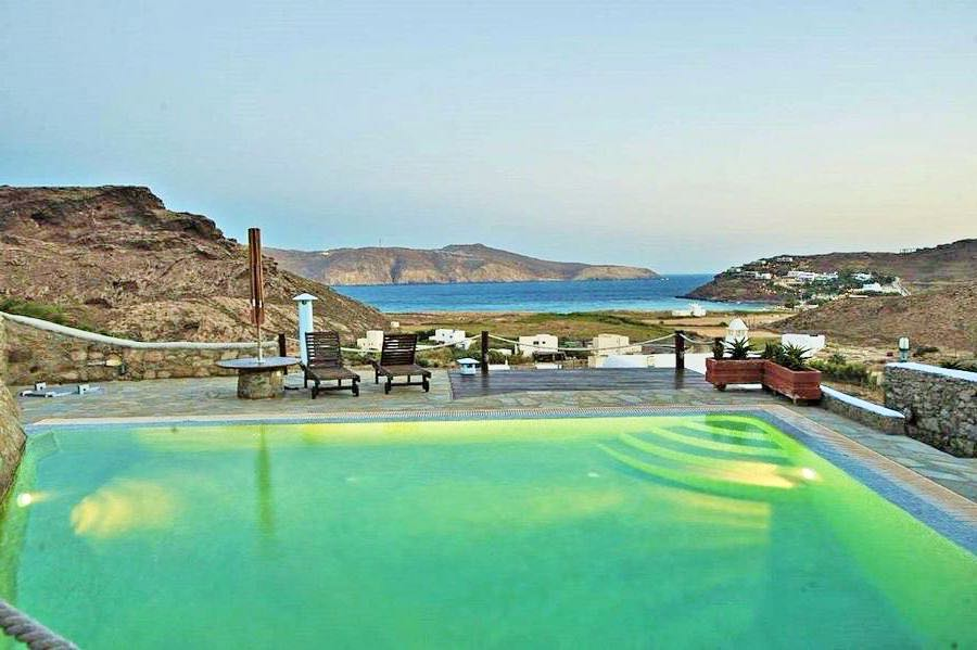 Villa with Pool and Sea View in Mykonos