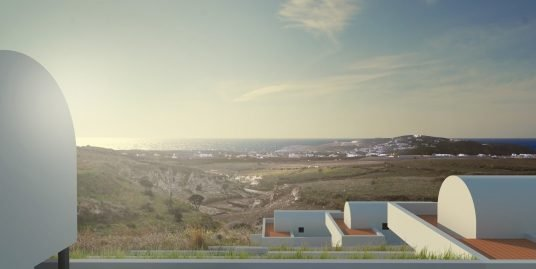Land Plot at Pyrgos Santorini with Permit to Built 7 Villas