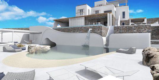 Super Luxury Villa at Korfos , Kanalia area in Mykonos