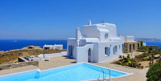 Villa Mykonos with Pool and Sea Views, Agios Stefanos Beach