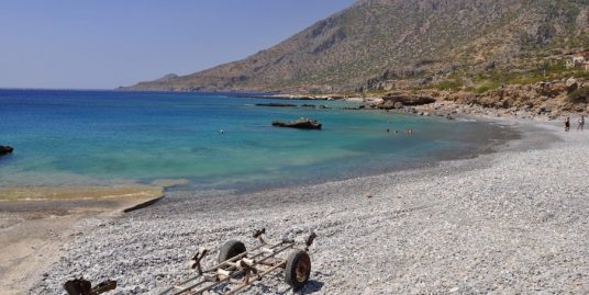 54.900 sq.m Waterfront Land for Hotel or Villas with Private Marina, South Crete