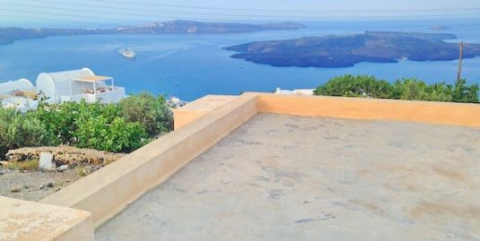 House and land with ability to build a Hotel at Caldera Santorini