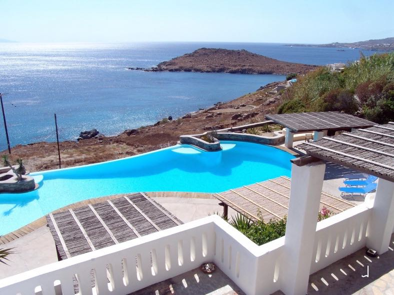 Complex of Studios with Sea View Mykonos, Aleomandra