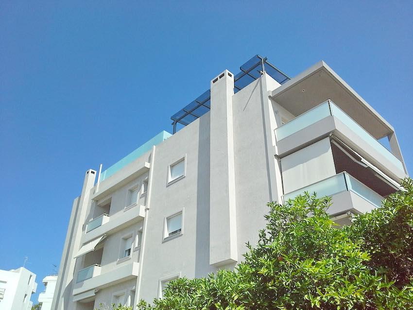 Luxury Penthouse at Glifada near the sea