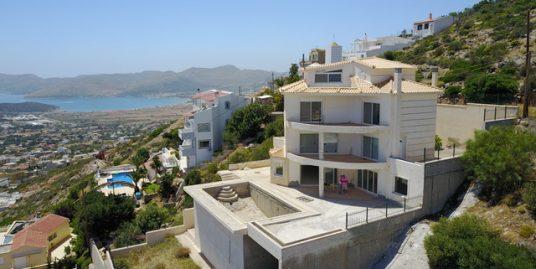 Big Villa with Panoramic Sea views at Saronida, South Attica