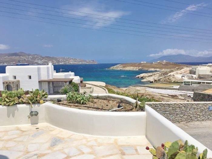 Villa with Great Sea Views at Kanalia Mykonos