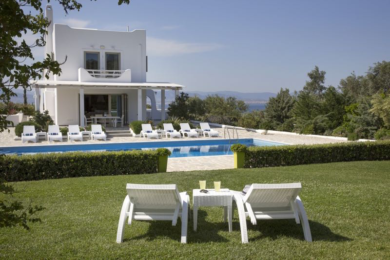 Seafront Luxury Villa Loutraki Attica