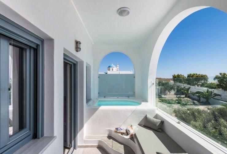 Apartment with Sea View at Santorini