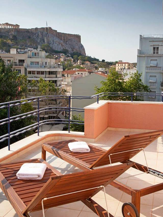 Hotel at Syntagma Center of Athens