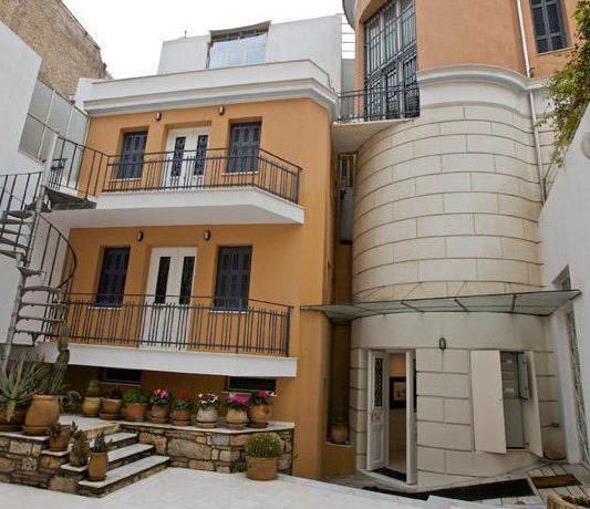Neoclassical Villa Athens Syntagma 4
