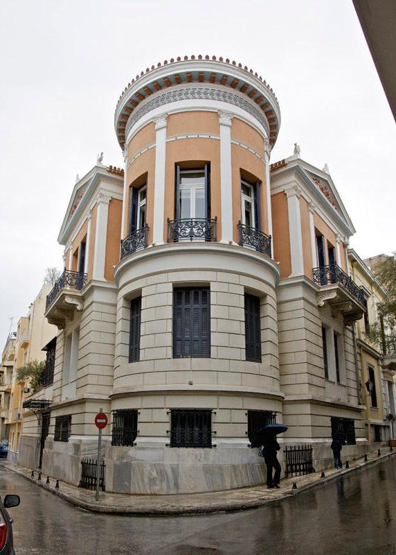Neoclassical Building at The Center of Plaka, Athens