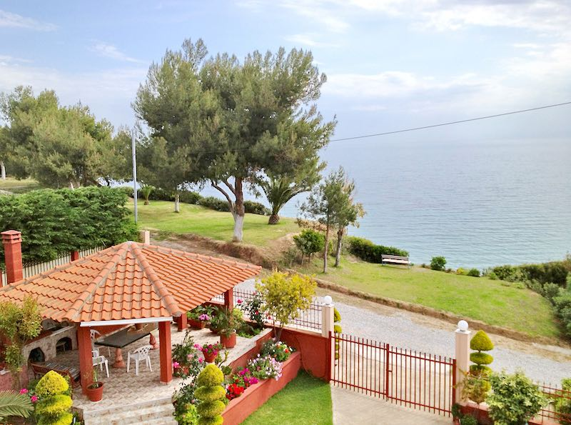 Seafront Property, Can Become a small Boutique Hotel, Halkidiki Potidea