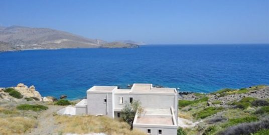 Seafront Villa in Syros Island Cyclades, Semi-finished