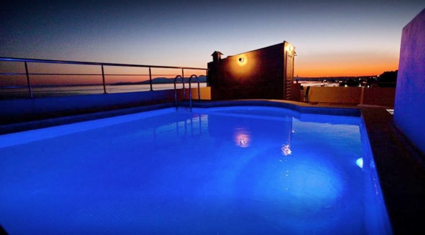 Seafront Villa with Roof Top Pool at Chania Crete for Sale 1