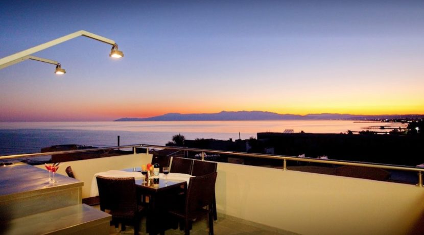Seafront Villa with Roof Top Pool at Chania Crete for Sale 2