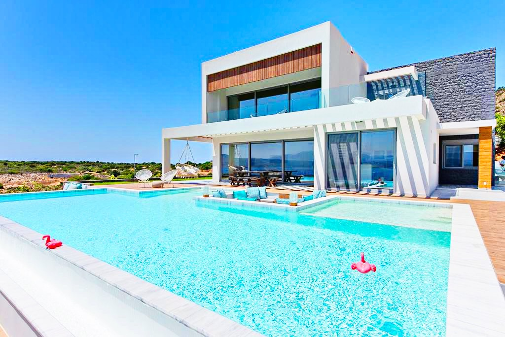 5 Star New Built Villa at Chania with Amazing Sea Views, EXCLUSIVE