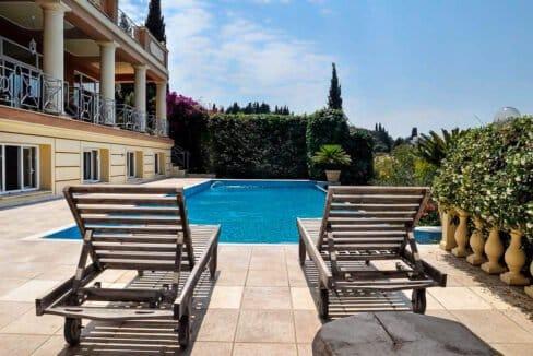 Villa with Sea Views at Corfu, Kontokali
