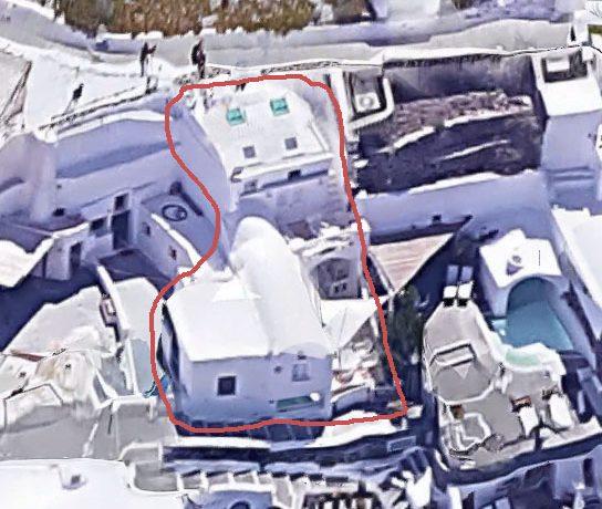 3 Level House at Caldera oia Santorini