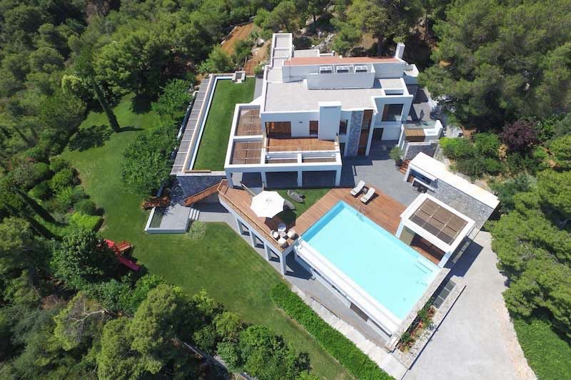 Villa at Chania Crete of  750 m² with pool and Sea Views