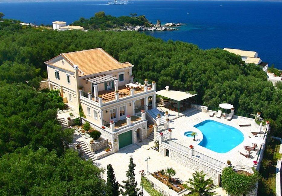 Amazing Villa for Sale Corfu Greece, Distance from beach: 20m. Beachfront Villa Corfu for Sale, Seafront Property in Corfu, Real Estate in Corfu 6