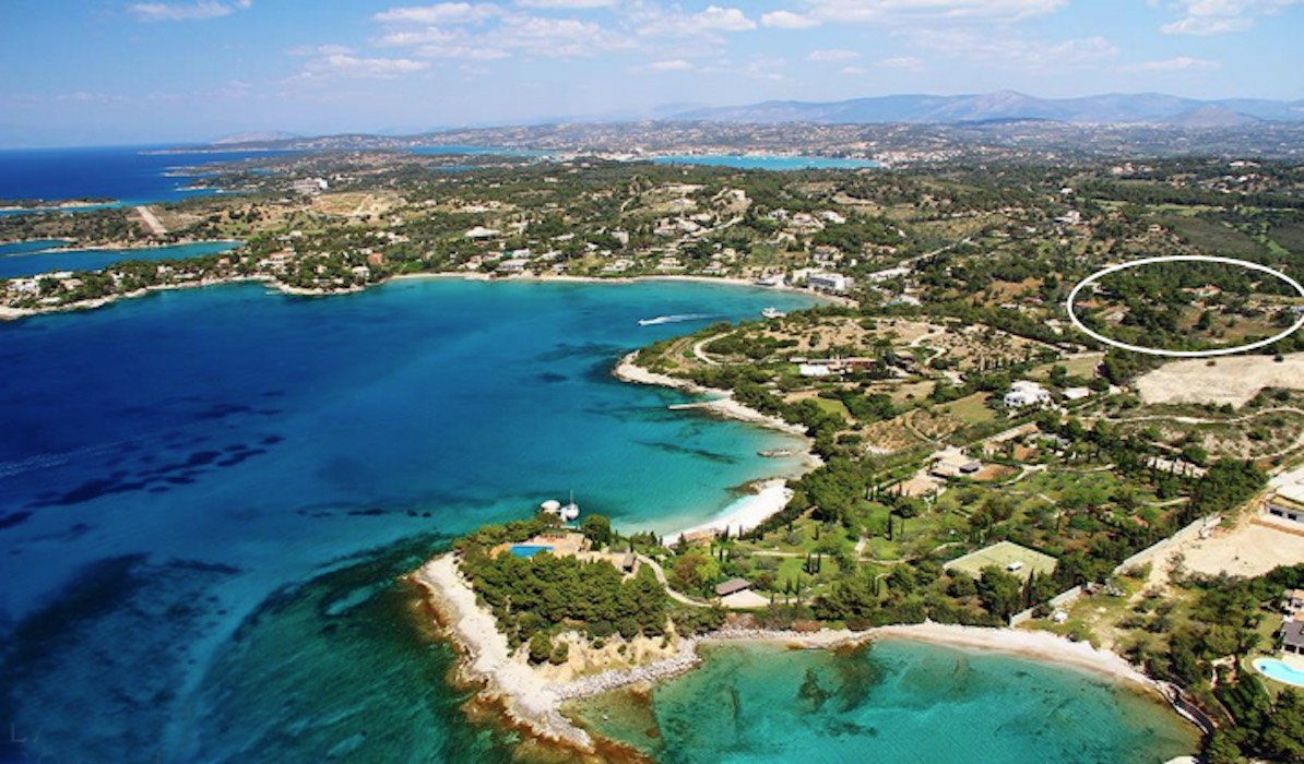 Land by the Sea with Property at Porto Heli- Can Built 1 or 2 Houses