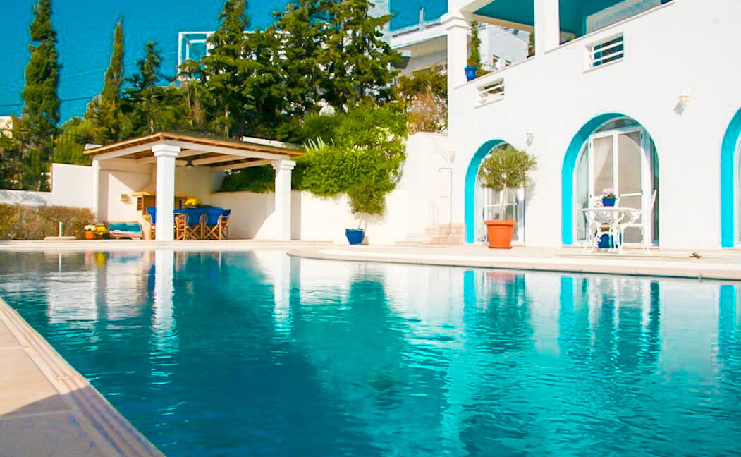 Seafront Villa for Sale in Athens Greece, Beachfront Villa Athens Greece, Villa on the Aegean Sea