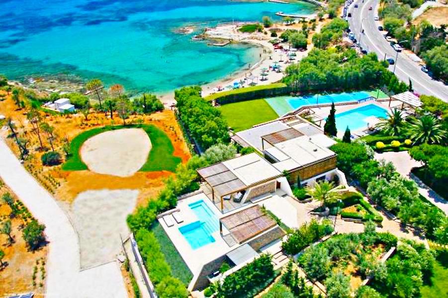 Seafront Villa in Attica with Private Beach 21
