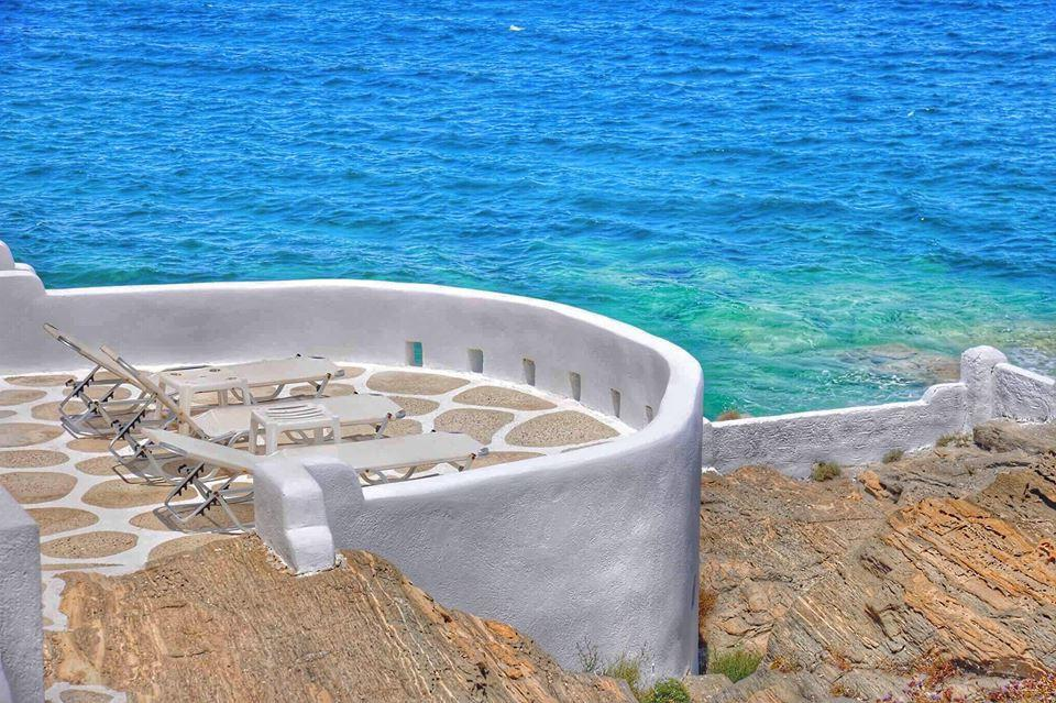 Seaside Villa in Paros, Cyclades Islands, Operates as Hotel of 8 Apartments