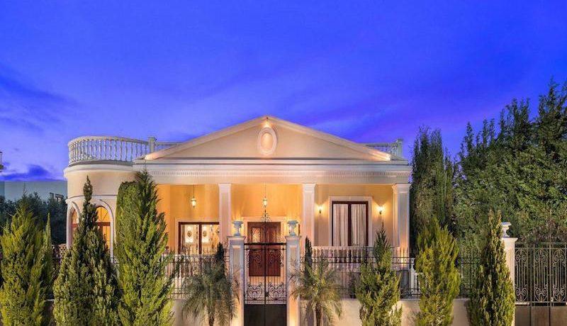 Ancient Greek Style Top Villa in Chania, Property in Greece, Luxury Estate, Top Villas,