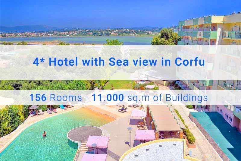 4* Hotel for Sale at Corfu near the Sea