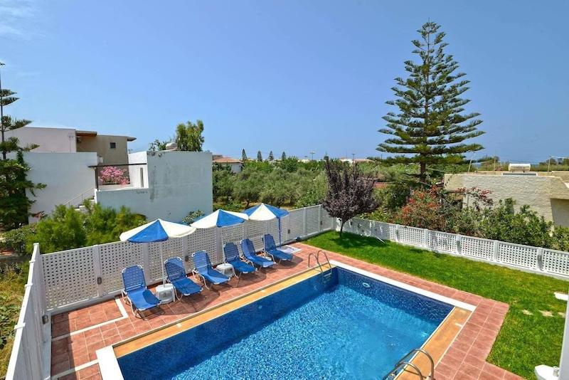 Home For Sale In Greece, Villa With 4 Apartments In Rethymno Crete