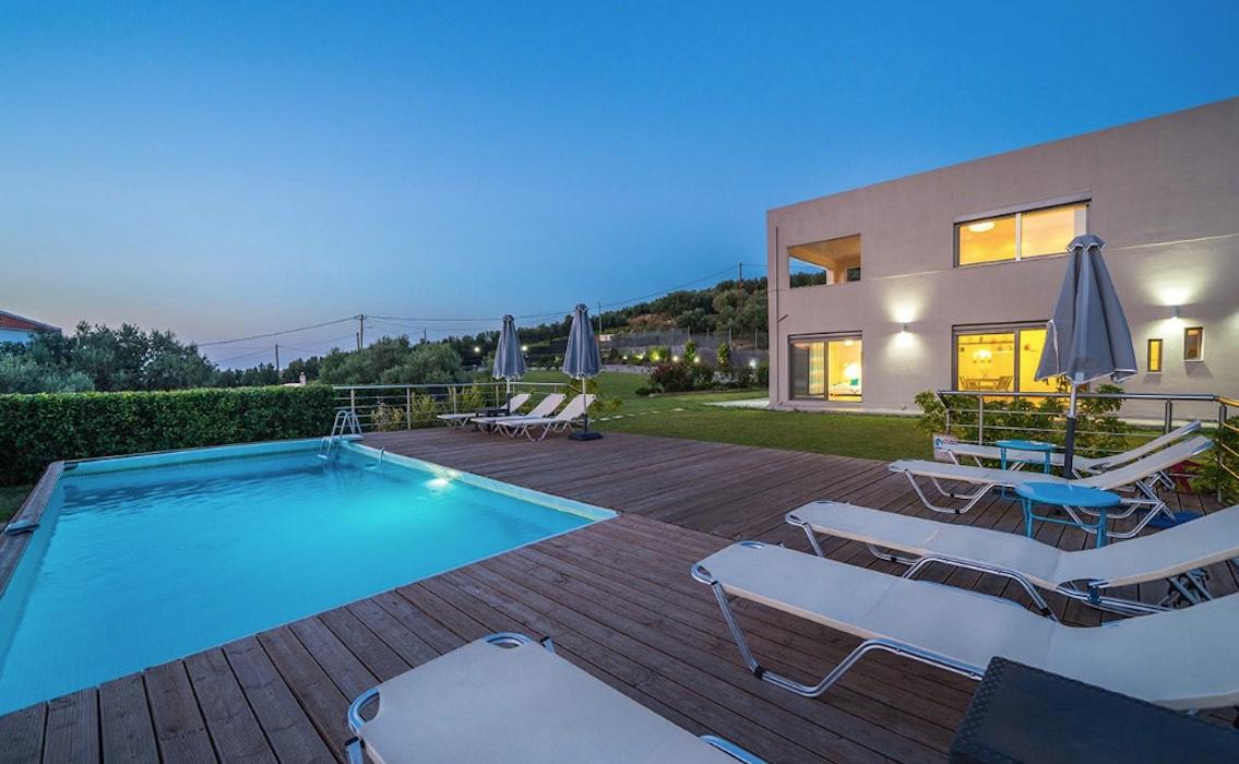 Modern Villa, Luxury Estate at Crete Near Chania