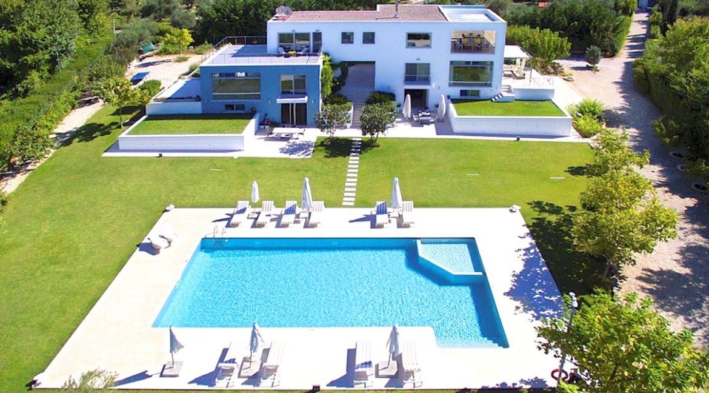 Seafront Minimal Villa at Corfu