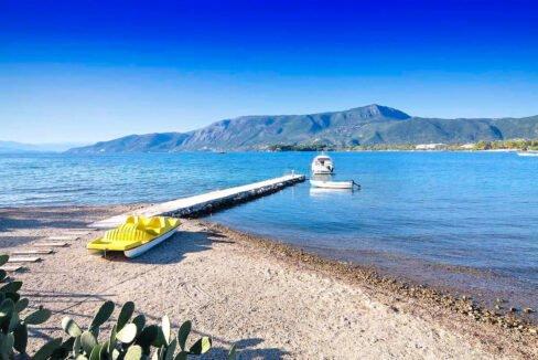 Seafront Villa at Corfu Greece for sale