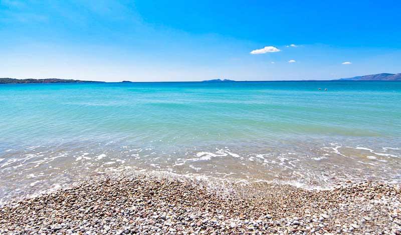 Beachfront Land Porto Heli, 19 Acres with Building Permit for 4 Luxury Villas