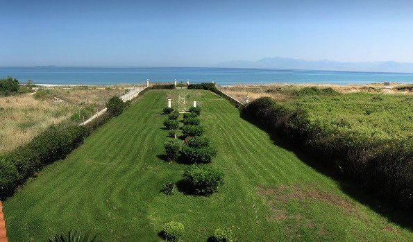 Luxury Beachfront Villa For Sale Almyros, Arachavi, Corfu
