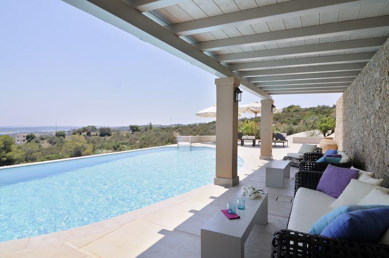 Big Villa in Porto Heli, with Sea view and  Pool