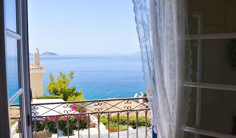Classic Greek House on the Seafront at Porto Heli, Peloponnese