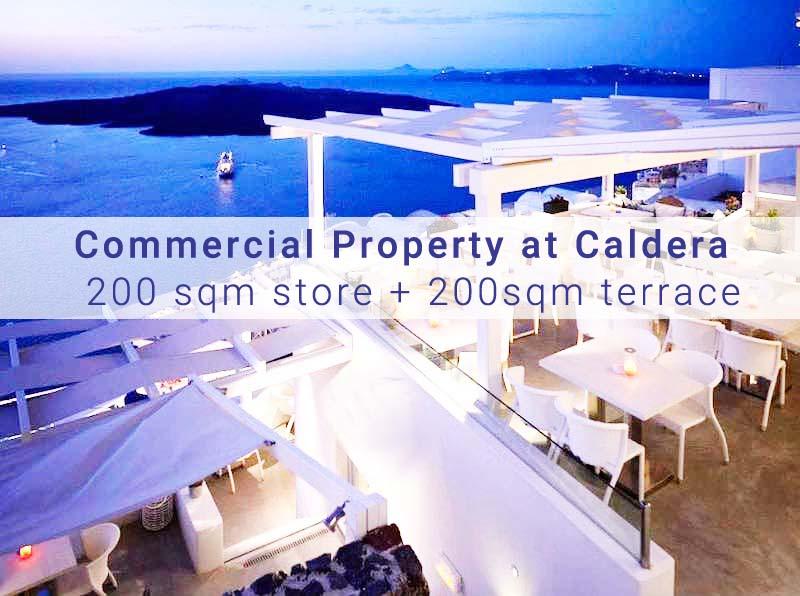 Commercial Property at Santorini, for Restaurant